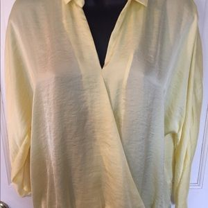 Philosophy yellow blouse. Size XS.